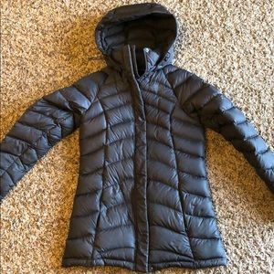 North Face women's down puffer coat